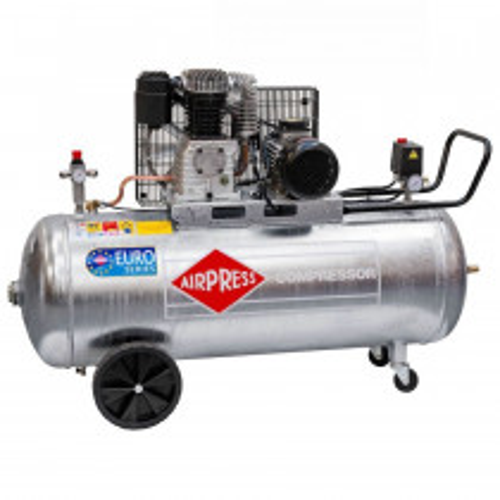 Druckluftkompressor mit galvanisiertem Kessel GK 600/200 - 400 V