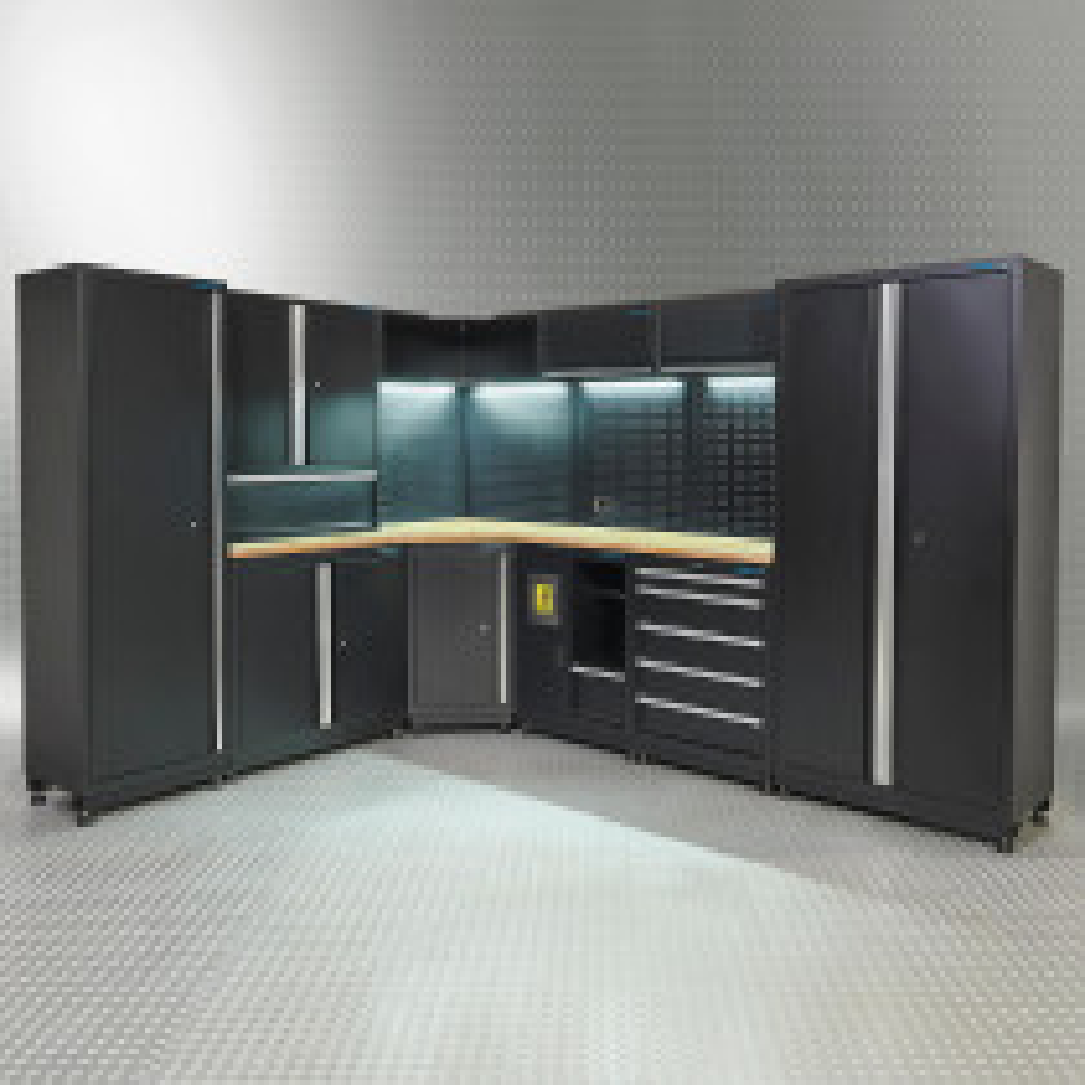 Werkstatteinrichtung PREMIUM 560 cm Eiche