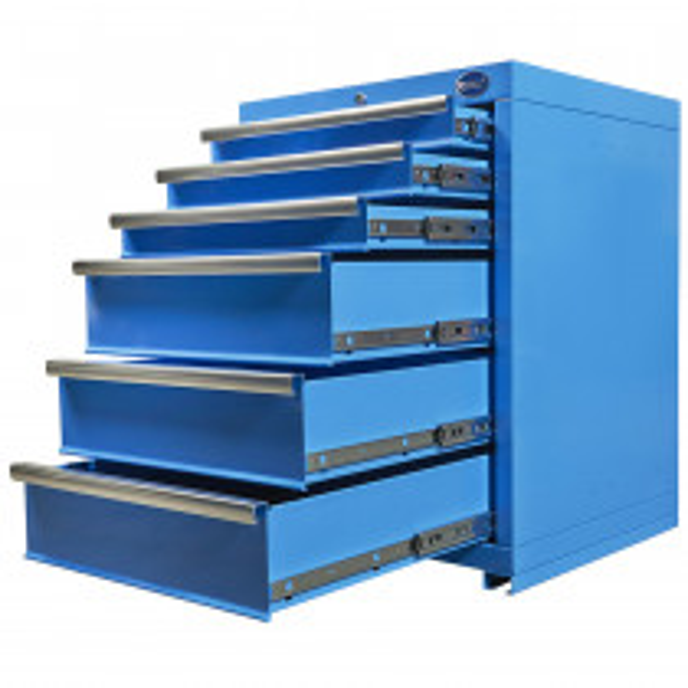 Werkzeugschrank mit 6 Schubladen - Blau