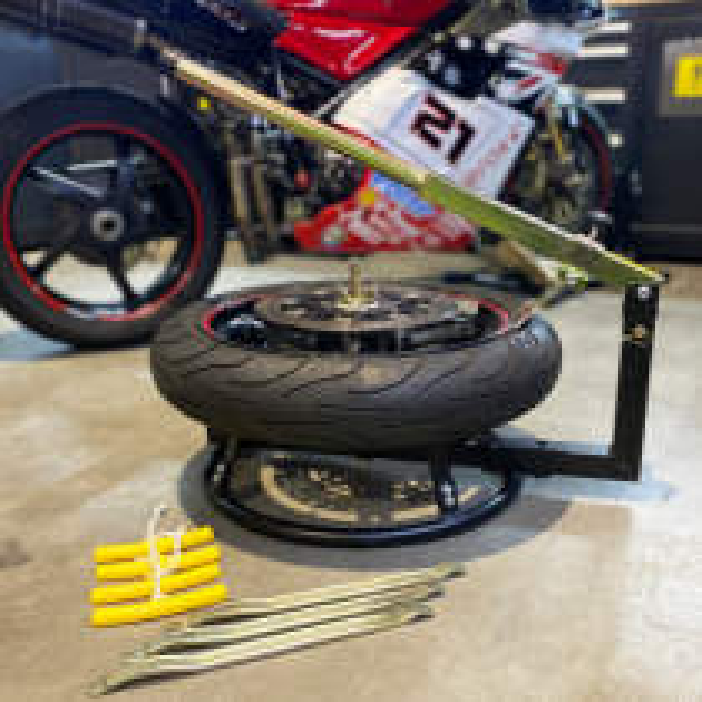 Reifenmontageset für Motorräder