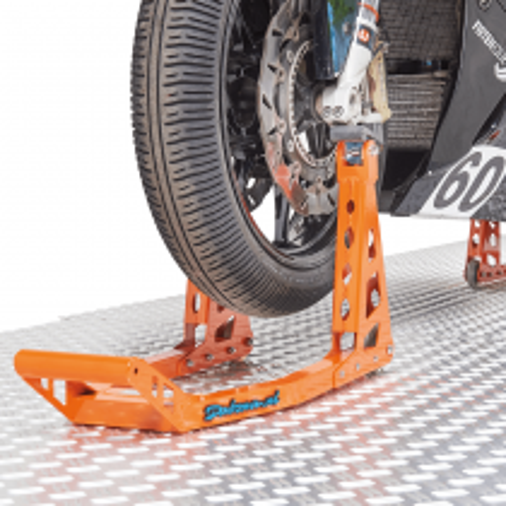 Motorrad Montageständer MotoGP Vorderrad - KTM Orange