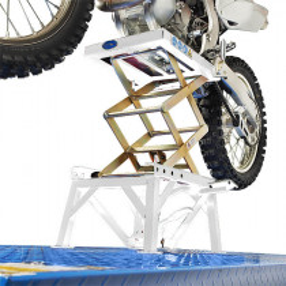 Scherenheber MX Motocross - Weiß