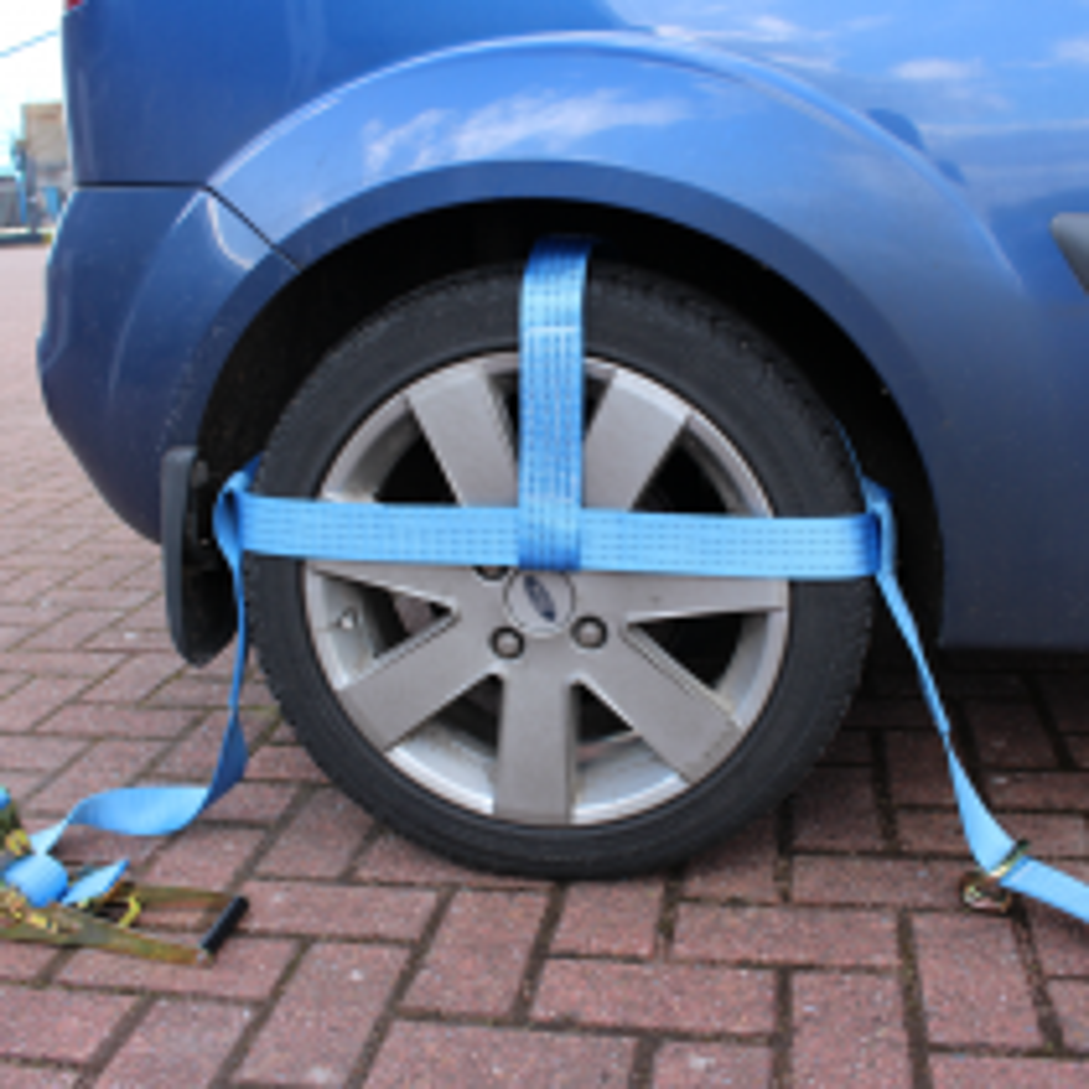 Reifengurte für Autoräder von 13 bis 15 Zoll - 4er Set