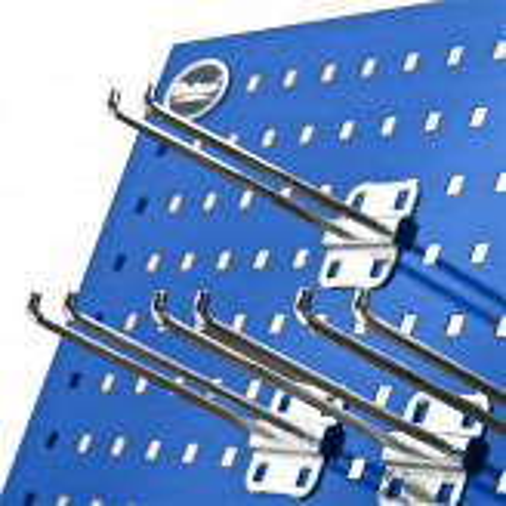 Werkzeughaken doppelt im 10er Set - 15 cm